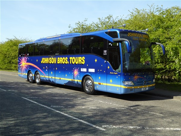 Mercedes Benz Portland >> Johnson Bros (Tours) | British and European Coach Holidays ...