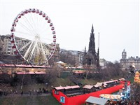 Edinburgh Christmas Markets & Shopping