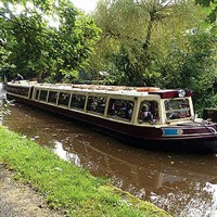 Bakewell&Judith Mary Canal Boat with Afternoon Tea